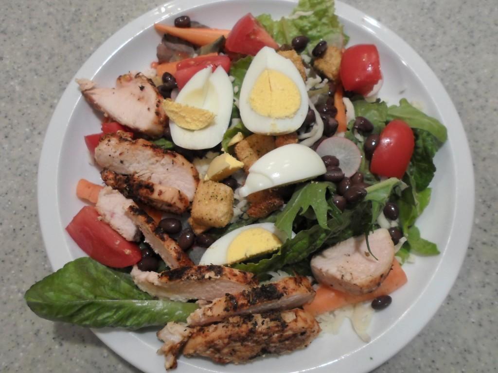 TWE dinner salad 110213