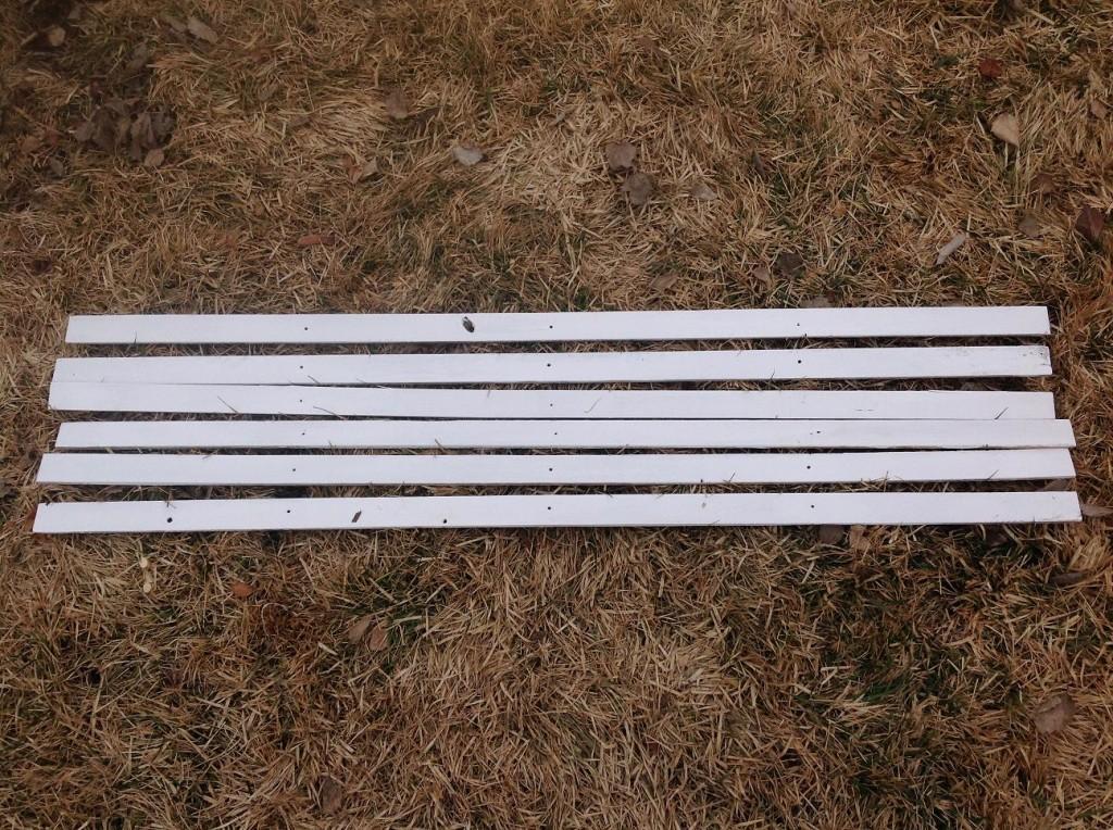 wood lath for grid